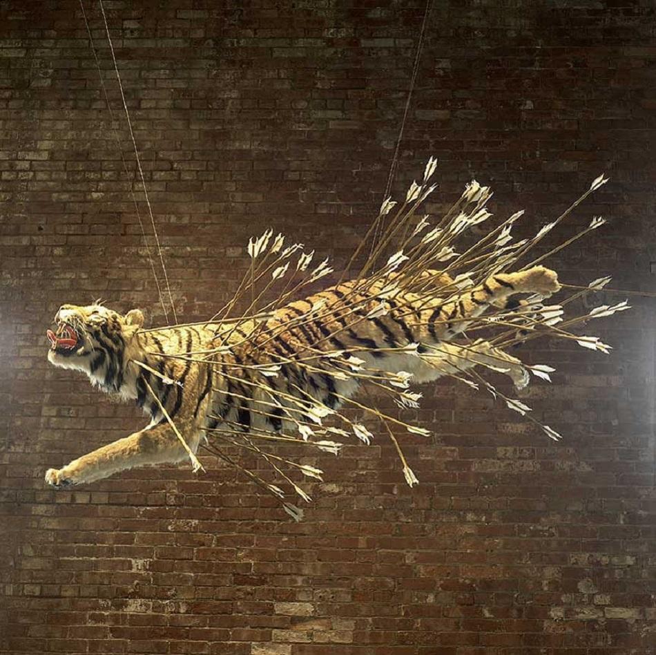 Les oeuvres explosives de cai guo qiang diane for Art contemporain artistes